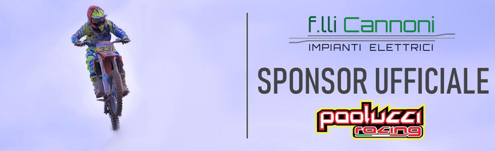 Fratelli Cannoni sponsor ufficiale Team Paolucci Racing